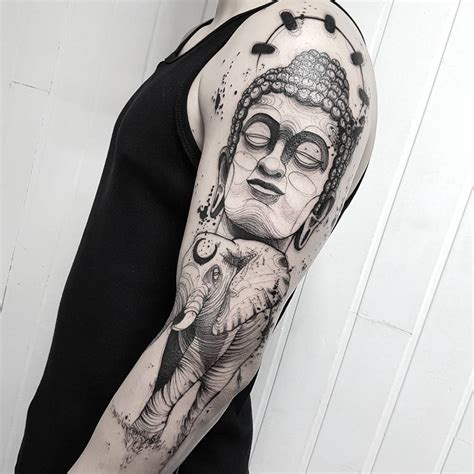 skinny buddha tattoo 130 best buddha designs meanings spiritual