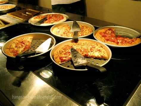 pizza hut buffet