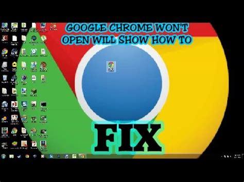 google images won t open double click on google chrome but won t open youtube