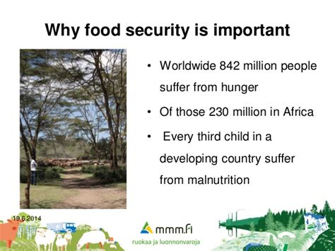 Mba In Food And Nutrition In India by Food And Nutrition Security In Africa Opening Remarks