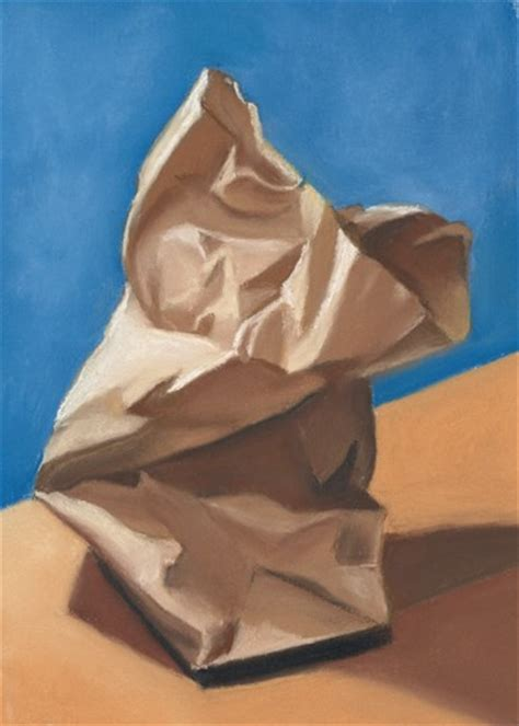 crumpled paper bag by ria artwanted