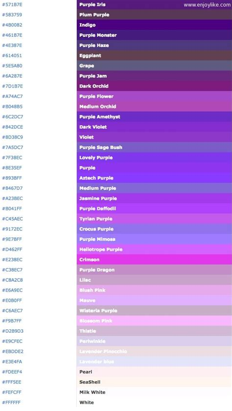 html color names html color codes and names images