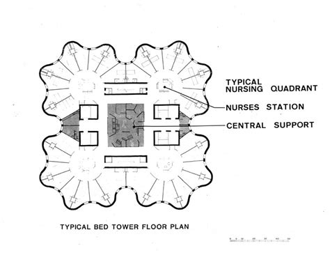 st joseph hospital floor plan bertrand goldberg st joseph s hospital
