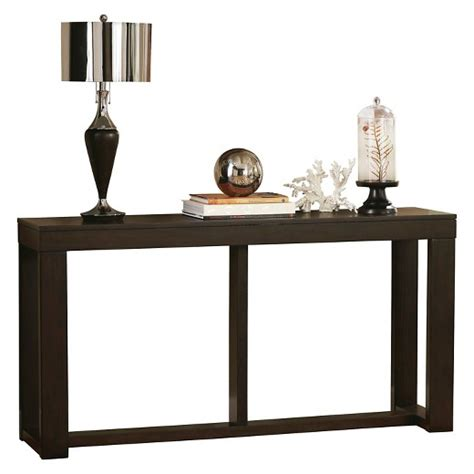 signature sofa table watson sofa table brown signature design by