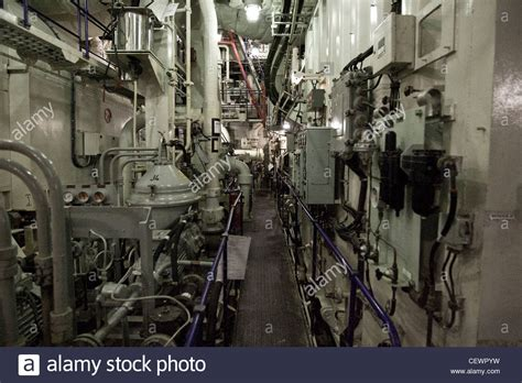 engine room engine room on naval aircraft carrier hms illustrius stock photo royalty free image 43592749