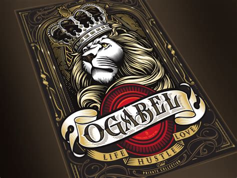 ogabel estate wine label by og abel dribbble