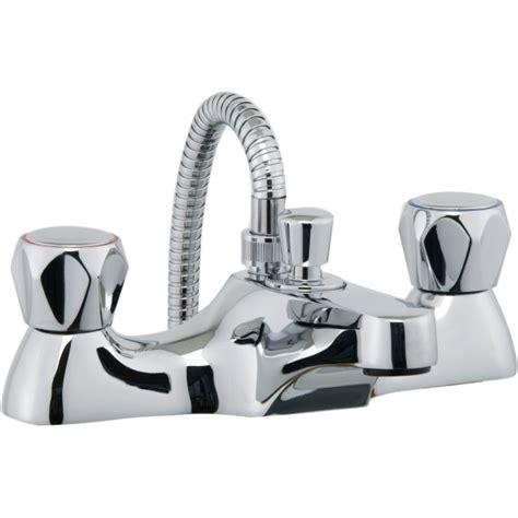Bath And Shower Mixer aura focus bath shower mixer inc hose and handset chrome