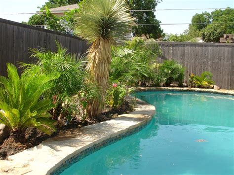 pool landscaping simple backyard ideas for landscaping room decorating