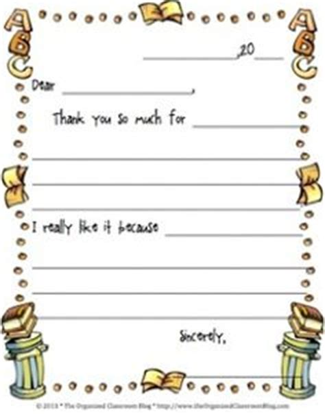 Thank You Letter Format For Elementary Students 1000 Images About Letters Postcard Writing On Letter Writing Friendly Letter And