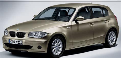 bmw macchine bmw serie 1 soluzione raffinata per il noleggio auto a