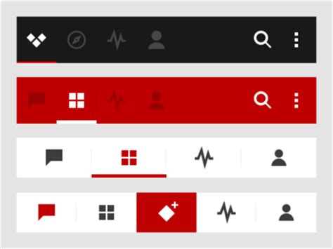 android design guidelines tabs tabs beautiful mobile tabs ui design with amazing user