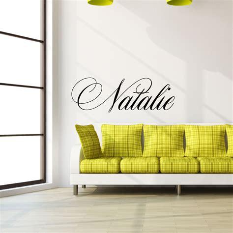 Les Chambre Pour Filles 3454 by Stickers Muraux Pr 233 Nom Sticker Nom Personnalis 233