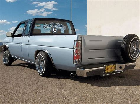 nissan hardbody lowered custom custom mini trucks ridin around mini truckin magazine