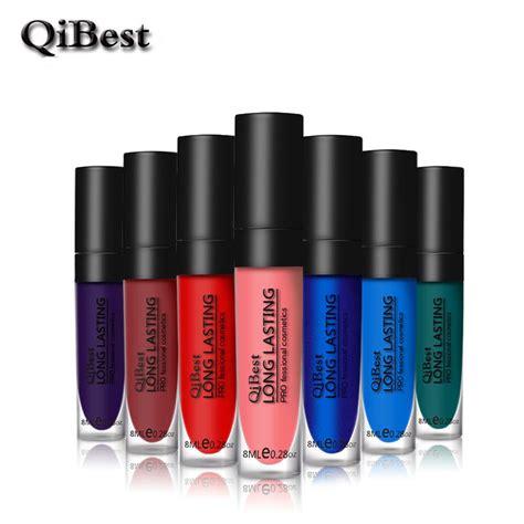 Etude Gloss Matte Lip Lip Gloss 1 1pc qibest 12 color lasting lip gloss matte lipgloss waterproof lip blue lip