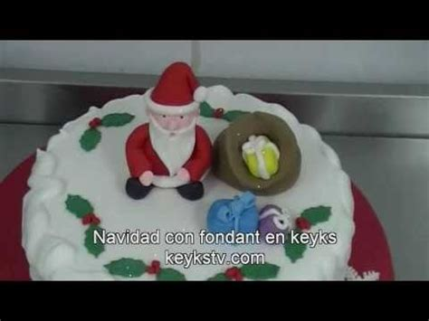 decoracion de pasteles navideos postres navideos