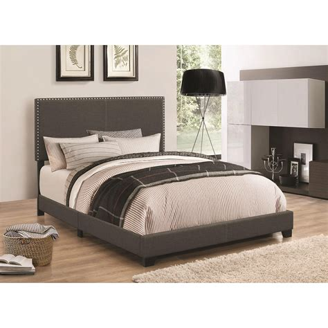 coaster upholstered bed coaster upholstered beds 350061f upholstered full bed with