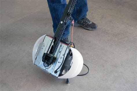 How to Replace a Garage Door Opener Drive Chain and Cable