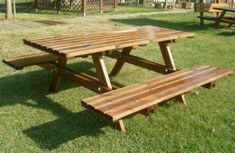 tavoli picnic tavoli panche panchine