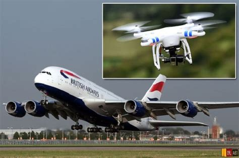 drone plane with tragic drone collision with plane deemed inevitable