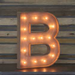 edison marquee letter quot b quot town amp country event rentals