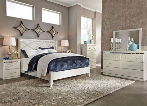 ashley furniture  dreamur modern queen  king panel bed frame bedroom set ebay