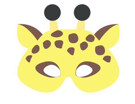 printable giraffe animal masks craft masks giraffe kidspressmagazine com