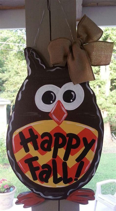 fall owl decorations best 25 owl door hangers ideas on owl door