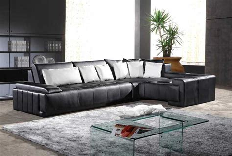 italian leather sectionals contemporary contemporary italian leather sectional sofa vcal 07