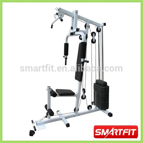 cheap indoor fitness equipment chromed one station home