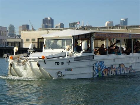 duck boat tours san francisco ride the ducks hibious vehicle picture of ride the