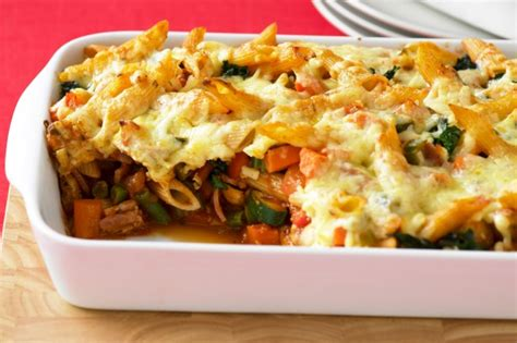 pasta bake recipes vegetable pasta bake recipe taste au