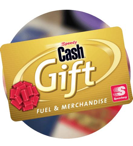 Speedy Gift Card - speedy cash speedway