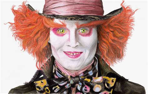 johnny mad johnny depp as the mad hatter www imgkid the image kid has it