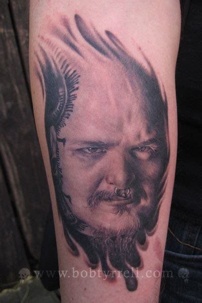bob tyrrell tattoo 15 best b g portrait tattoos images on cool