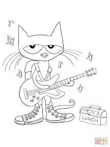pete the cat coloring pages pet coloring pages