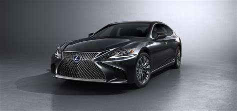 lexus reveals all new ls 500h flagship with a 354hp hybrid