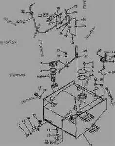 Fuel System Komatsu Fuel Tank And Piping 10001 19999 Wheel Loader Komatsu