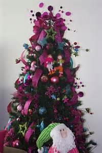 arbol navidad decorado con malla imagui