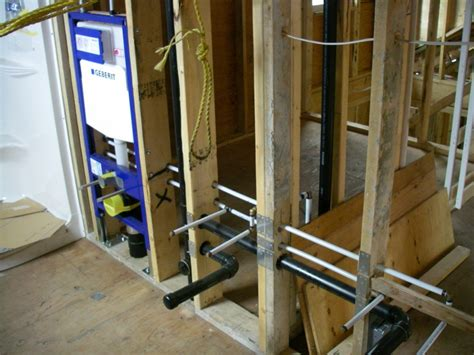 rough plumbing how to rough in a rough in which included re positioning