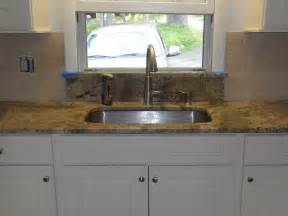 Kitchen Sinks With Backsplash Undermount Kitchen Sink Granite Window Sill Limestone