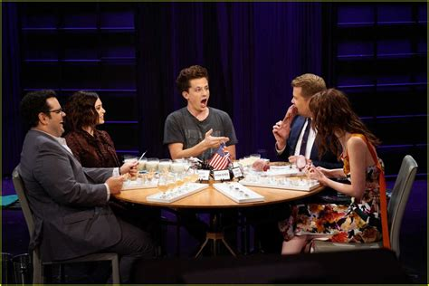 charlie puth james corden charlie puth gags nearly gets sick playing spill your