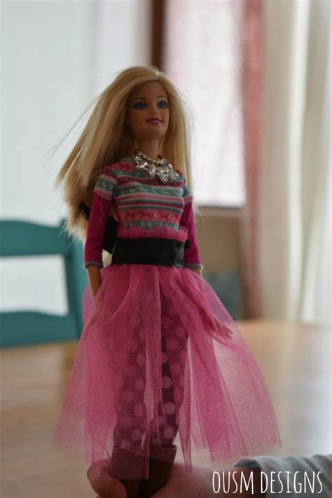 fashion doll tutorial fashion doll tulle skirt tutorial once upon a sewing machine
