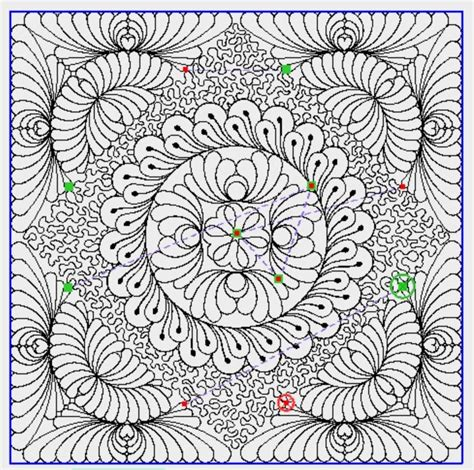 Computerized Quilting Patterns by 9 Best Images About Prostitcher And N Stitch On