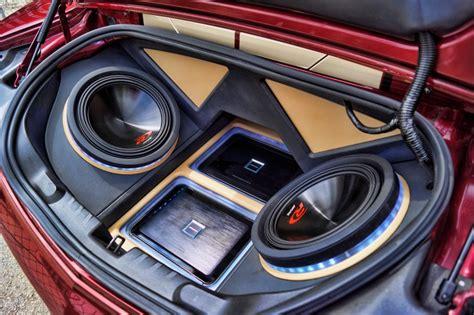 Handcrafted Car Audio - dodge challenger subwoofer box dodge free engine image