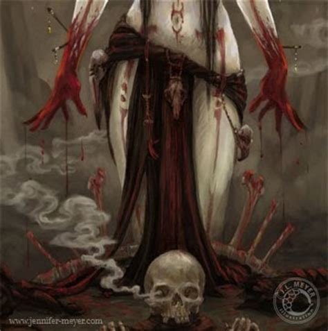 of witchs blood illustrations and comic blood rite witch