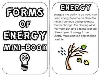 is light energy potential or kinetic forms of energy mini book definitions exles review