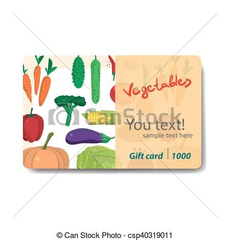 Discount Gift Cards For Sale - vector clip art of store fruits and vegetables sale discount gift card