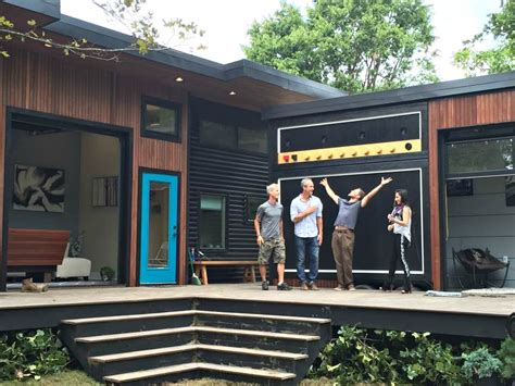 Micro House Music by Amplified Tiny House Lets Musician Homeowner Rock Out In