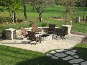 Patios With Fire Pits by Gallery Dans Custom Brickwork Inc