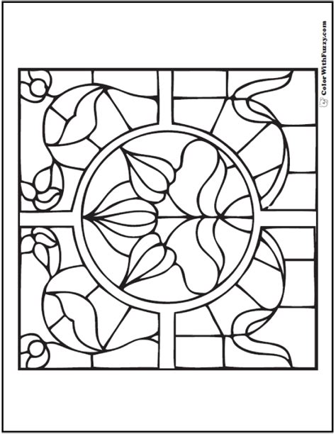 coloring pages of stained glass patterns 42 adult coloring pages customize printable pdfs